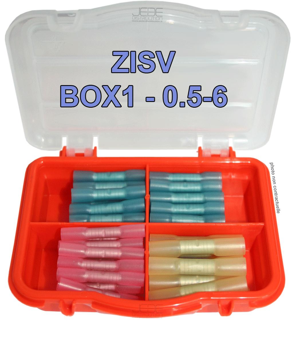 Zdad box1 boite d assortiment de 16 connecteurs auto for 16 box auto
