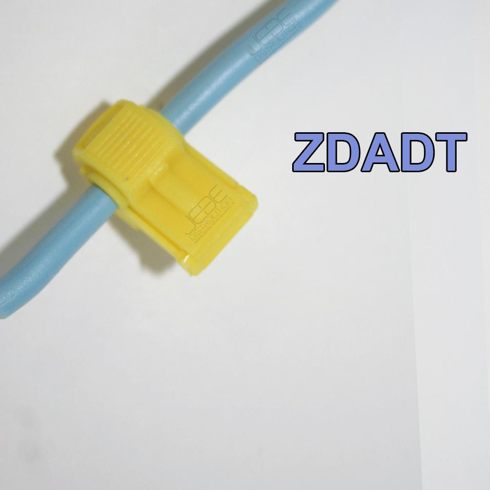 Connecteur Rapide De Dérivation Auto Dénudant