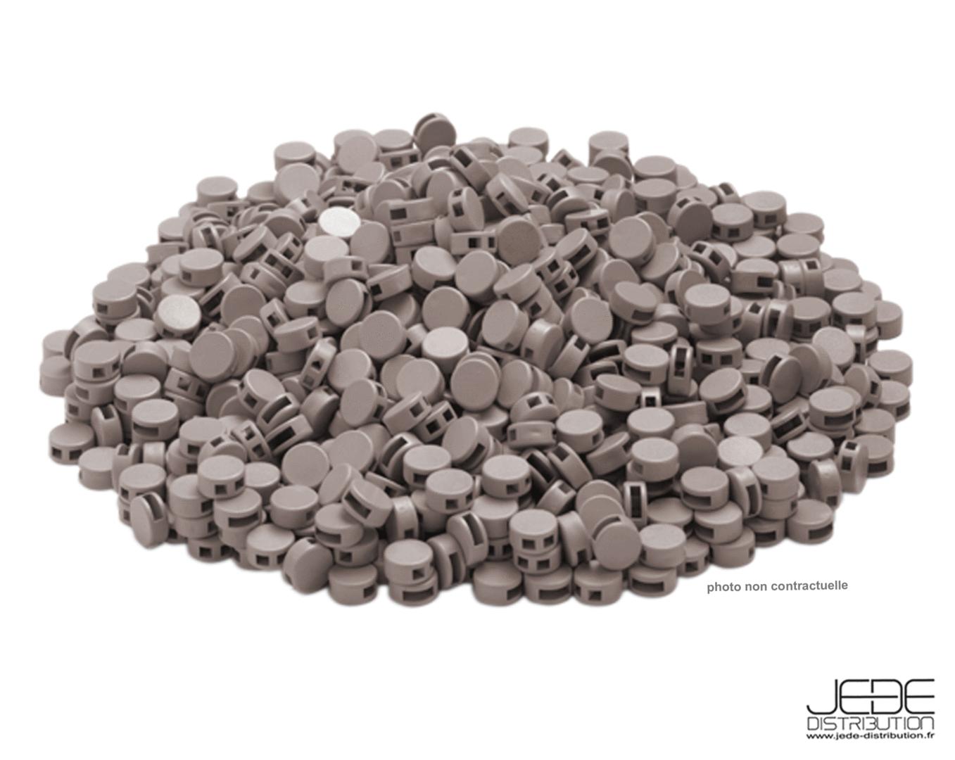 pastilles pour scell en plastique cimco 140740 jede. Black Bedroom Furniture Sets. Home Design Ideas