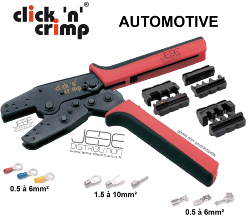 Pince à sertir click'n'crimp AUTOMOTIVE 106002