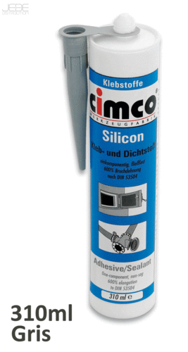 Colle silicone grise 310ml