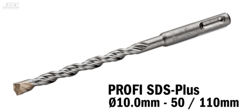 Foret à percussion PROFI SDS-Plus  Ø10.0mm - 10 / 110mm