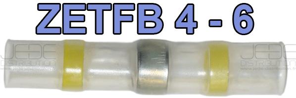 Boite d/'assortiment de 73 connecteurs auto soudeur ZETFB-BOX 1-0.3 à 6 mm²